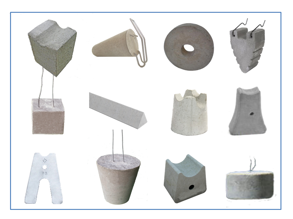 Spacers For Concrete Columns : Classification of concrete spacer