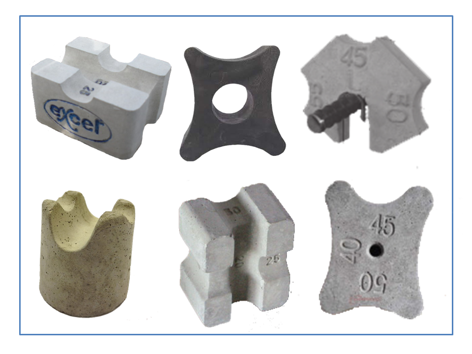 Spacer For Concrete Deck : Classification of concrete spacer