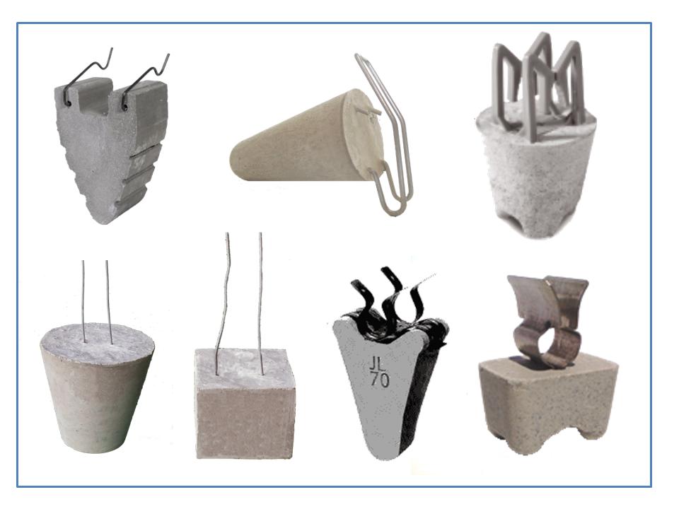 Cast Concrete Spacers : Classification of concrete spacer