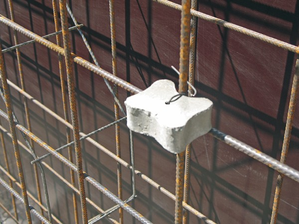 Spacers For Concrete Columns : How to select and use the concrete spacer