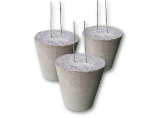 Single Concrete spacer- Cone type