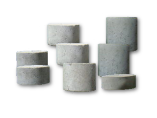 Single Concrete spacer- Round type